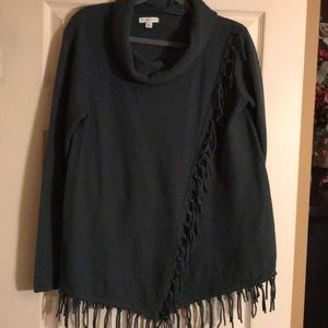 Croft and Barrow Top With Fringe
